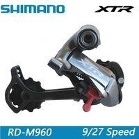 SHIMANO XTR Rare MTB Mountain Bike Transmission Rear derailleur Shifter Bicycle Parts Bicycle Accessories RD M960 9/27 Speed