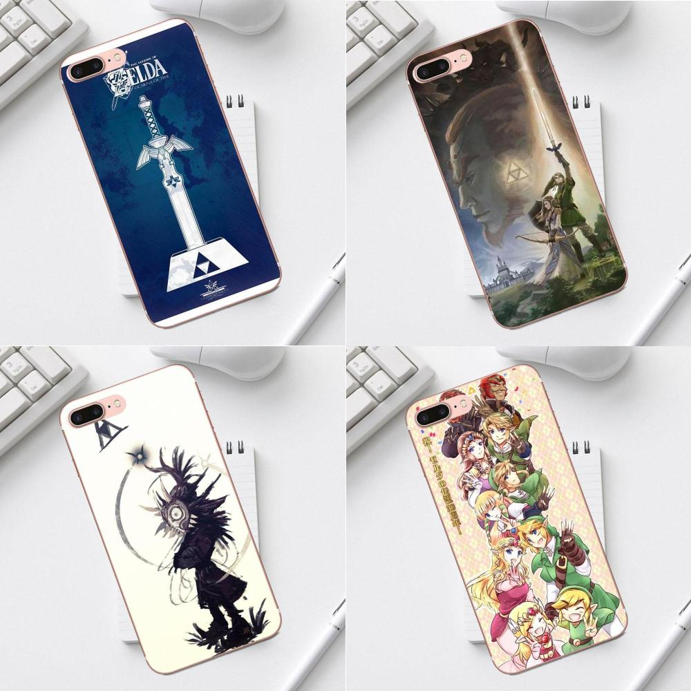 Qdowpz TPU Covers Capa Loz Wallpaper For iPhone 4 4S 5 5C SE 6 6S 7 8 Plus X XS Max XR Galaxy A3 A5 J1 J3 J5 J7 2017 image