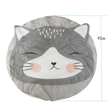 цена на 92cm Baby play Cat Mats climbing carpet infant Crawling Blanket Round Carpet Rug Toys Mat For Children Room Decor Sleeping Mats