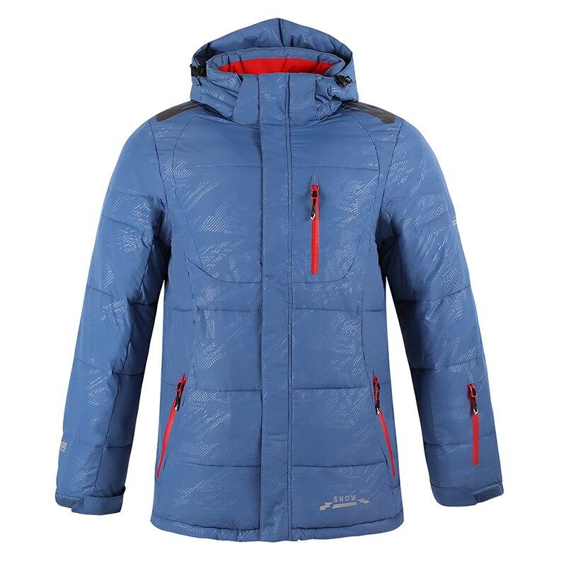 Extérieur nouveau costume de ski simple et double planche pour hommes imperméable coupe-vent vêtements d'alpinisme froid tenue de ville pour hommes - 3