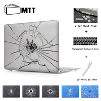 Broken Mirror Matte Case For Apple Macbook Pro 13 Case Air 11 Pro 15 Retina Case