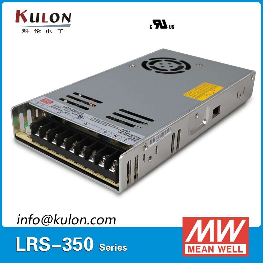Original Meanwell LRS-350-24 single output 350w 24v 14.6a Mean well power supply DC 24V original meanwell nes 350 48 ac to dc single output 350w 7 3a 48v mean well power supply nes 350