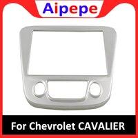 Acessórios de Estilo de carro Para Chevrolet Cavalier 2018 2019 ABS Centro Console de Controle Do Painel de Navegação Quadro Capa Protector Guarnição