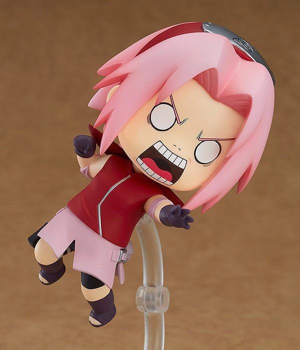 Nendoroid Mini Action Figure – Anime Naruto  833 Haruno Sakura  10cm BJD  New Ninja Girls