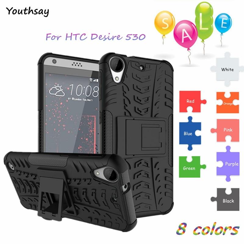 568b632671c Youthsay para funda HTC Desire 530 caso para HTC Desire 530 Shockproof  armadura de silicona cubierta para Coque HTC 530 630
