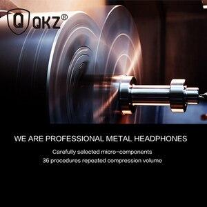 Image 5 - אוזניות QKZ EQ1 מתכת טלפון אוזניות חצי באוזן אוזניות עם מיקרופון אוזניות אוזניות עבור טלפון Xiaomi fone דה ouvido
