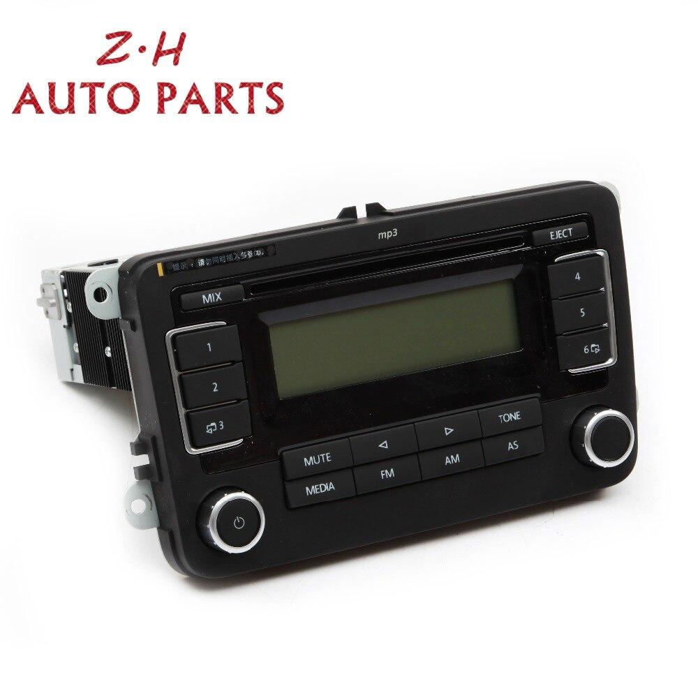 NEW RCD030+ MP3 Player Car Radio USB AUX CD Input 5KD 035 181 For VW Jetta  Golf MK5 MK6 Passat Tiguan Eos RCD 030+18G035186G
