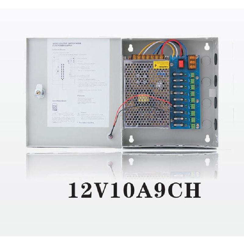12V-10A-9CH