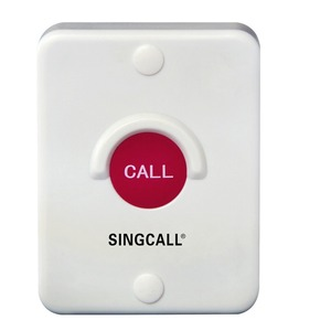 Image 2 - SINGCALL Wireless Calling System,Red Silica Button,Waterproof, Sun Proof, Dustproof, Shockproof, One Button Pager(APE510)