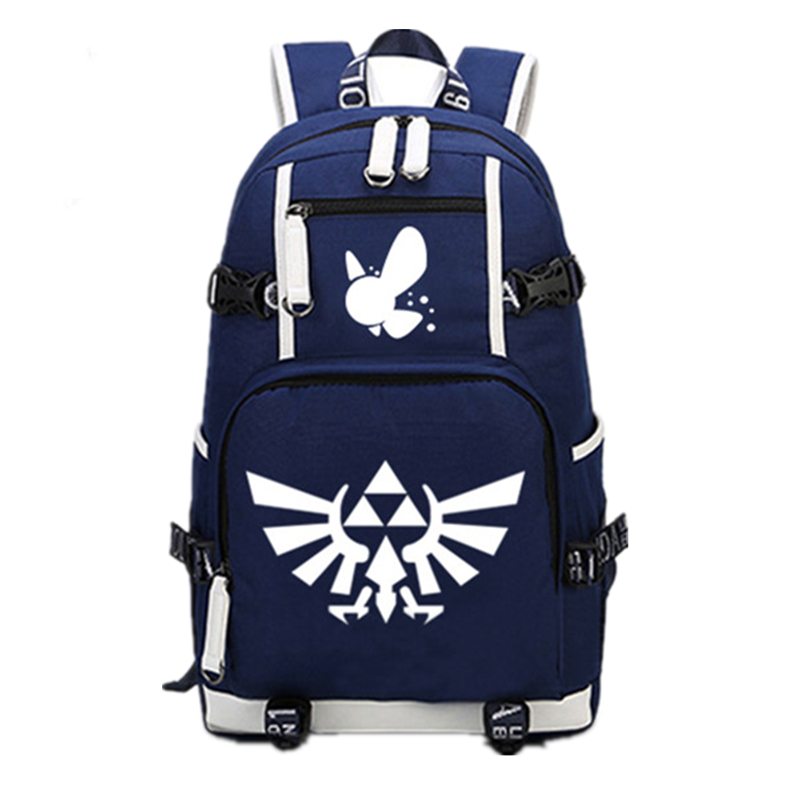2017 The Legend Of Zelda: Breath Of The Wild Printing Backpack Large Capacity Canvas School Bags Mochila Laptop Zelda Backpack