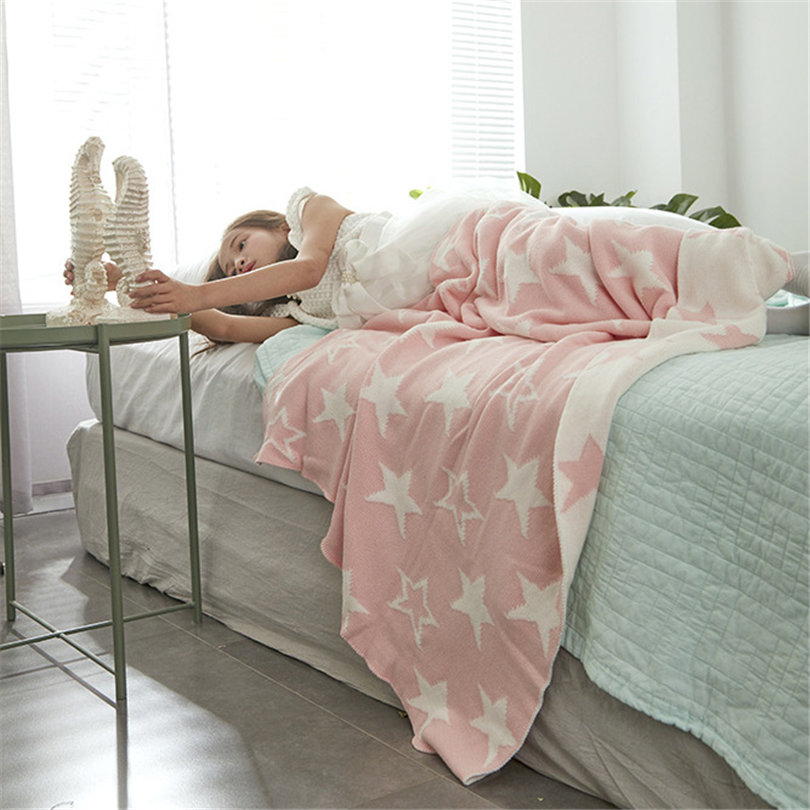 Spring/Autumn Secret Pink Coral Fleece Blanket Bed Sofa Picnic Baby children Cobertor sereia Swaddle Sleeper Plaids on the sofa