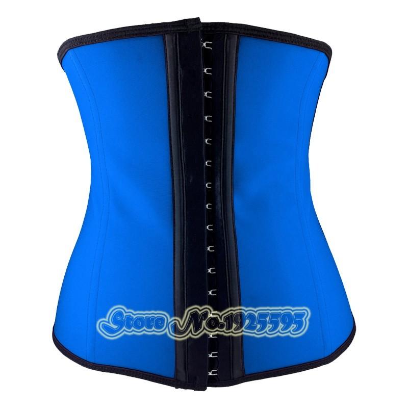 c7e272c4fbf latex waist trainer gaine corset minceur slimming sheath girdles ...