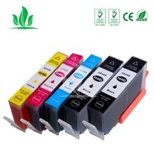 5 pcs Ink Cartridge Compatible for HP364 364XL 5510/5515/6510/7510/B8550/C5324/C5380/C6324/C6380/D5460/B010a Printer