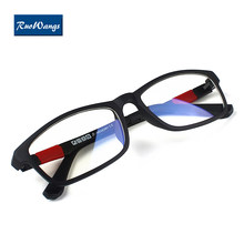 Men Women eyeglasses frames eyewear plain glass spectacle frame silicone optical brand eye glasses frame men eyeglasses(China)