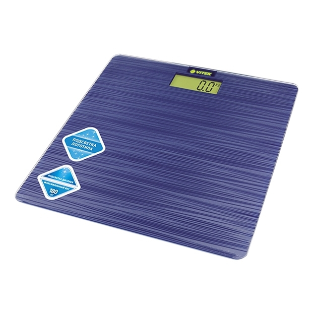 Floor scales Vitek VT-8062B home lcd display weighing scale usb rechargeable electronic scales gym floor scales 180kg 50g
