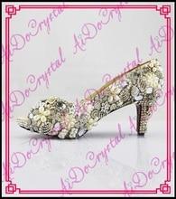 Aidocrystal frauen low heels Peep Toe pumps designer schuhe frauen luxus 2016 sommer herbst neue stil frau pumpen