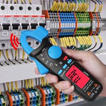 BSIDE ACM91 Pince Numérique Compteur Courant Alternatif/cc 1mA Vraie Gamme Automatique RMS Contrôle En Direct NCV Temp Fréquence Condensateur Testeur Multimètre