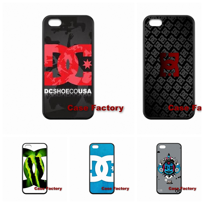 Red DC Shoes Logo For BlackBerry 8520 9700 9900 Z10 Q10 LG G5 E975 L5II L7II Google Nexus 4 5 6 Sony Z1 Z2 Z3 Compact Cute Skin