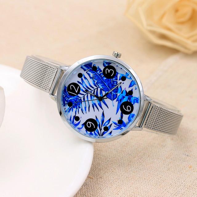 Duobla 2019 NEW Fashion Casual Women Watches Creative Fashion Watch Quartz Wristwatch Mesh Belt Bracelet Zegarek Damski 30Q