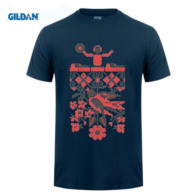 GILDAN Discount Ukrainian Ethno DJ Men s t-shirt for Sale boys Pre-cotton  t-shirts 4f49c794c