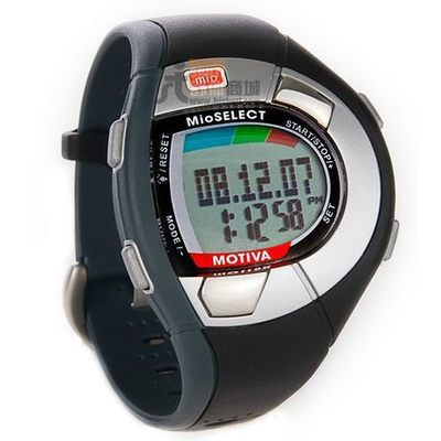 Mio Motiva without chest belt,finger touch monitor heart rate smart wristwatch
