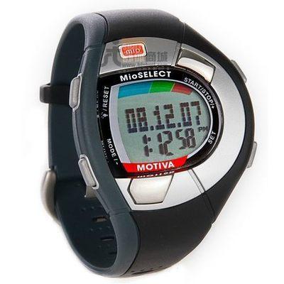 Mio Motivación sin correa pectoral, toque de un dedo monitor de ritmo cardíaco reloj inteligente