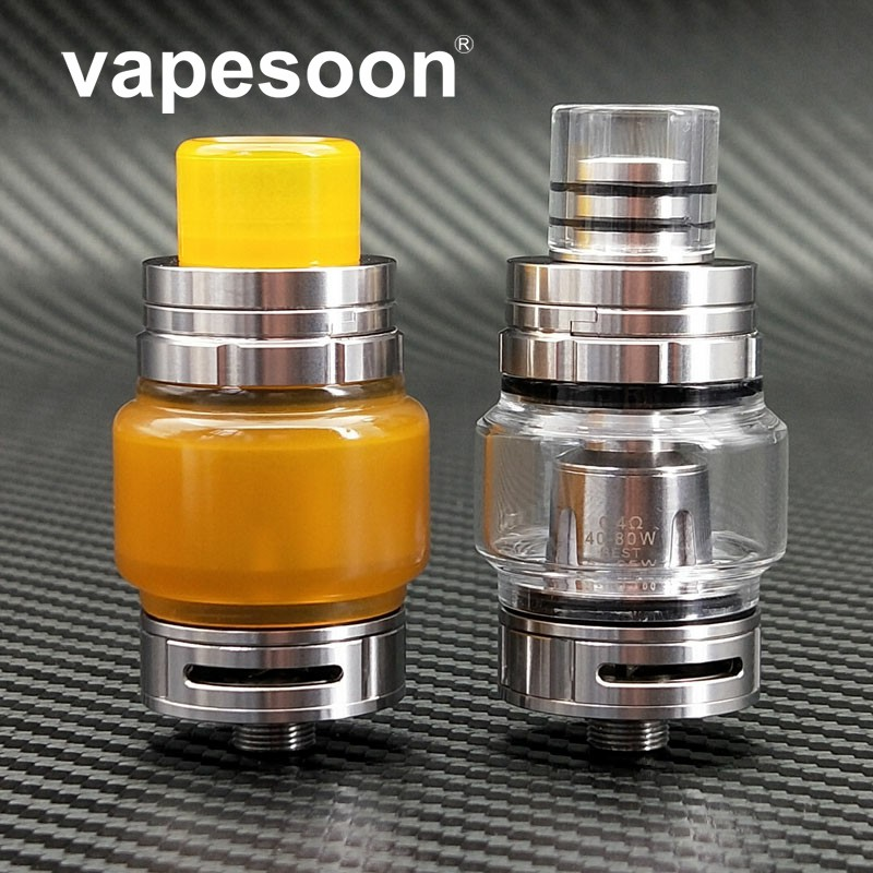 VapeSoon B1 Subohm TANK Atomizer 6ML 510 Thread 0.4ohm Q2 Coil Atomizer Tank VS TFV8 BABY TFV12 Top Filling 22MM