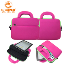 Free shipping retail 2015 new neoprene many color laptop bag for 10.1 inch computer accessories