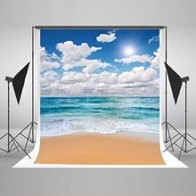Свадьба Фонов Море Солнце Пляж Компьютер Печати Фон Голубое Небо И Белые Облака Фоны для Фотостудии