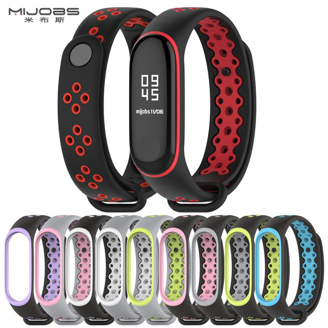 Mi Band 3 Strap Bracelet wrist strap watch Mi band3 accessories smart bracelet sport Silicone Strap for Xiaomi mi band 3