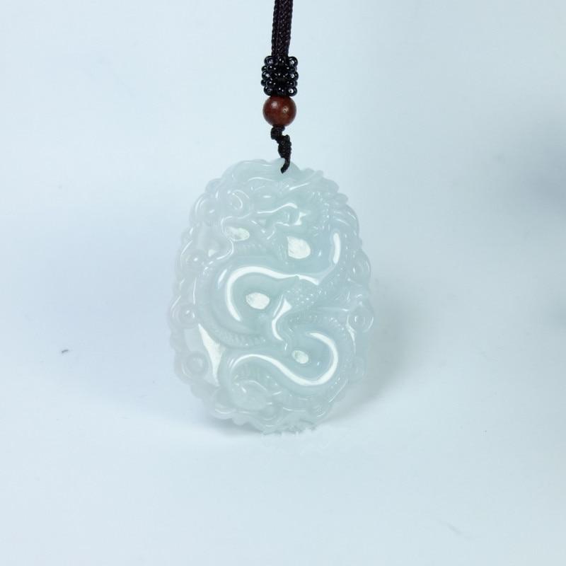 50*40*6mm Tjp Natürliche Jadeit Jade Drachen Marke Anhänger Sternzeichen Drachen Jade Marke Jade Anhänger Halskette Für Frauen Und Männer Nachfrage üBer Dem Angebot