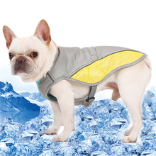 Dog Cooling Vest Summer Clothes For Small Medium Large Dogs Adjustable Pet Mesh Reflective Harnesses Quick Release Hot