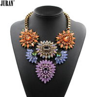 Wholesale (Lead and Nickel free) fashion Necklace 2017 women chunky Chain necklace Choker bubble statement necklace & pendant