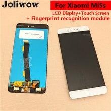 Parmak Izi tanıma fonksiyonu ile Xiaomi Mi5s MI 5 S Için LCD Ekran + Dokunmatik Ekran Meclisi değiştirin 5.15″