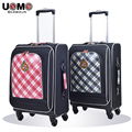 UNME students casual luggage trolley suitcase children