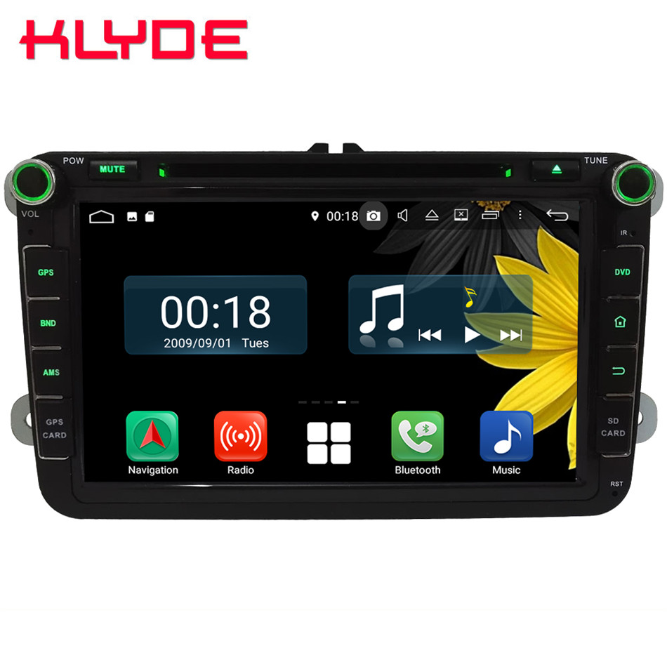 8 Octa Core 4G Android 8 1 4GB RAM 64GB ROM Car DVD Player Stereo Radio