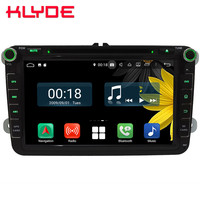 8 Octa Core 4G Android 8.1 4GB RAM 64GB ROM Car DVD Player Stereo Radio For VW Passat Tiguan T5/Seat Leon Altea Toledo Alhambra