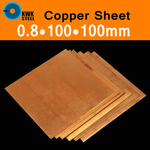 Shim Copper-Plate-Sheet Metal-Art Cool Strip C11000 Tablets Diy-Material High-Pure