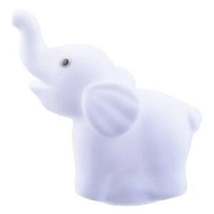 Image 5 - 색상 변경 코끼리 LED 램프 웨딩 생일 파티 장식 LED 밤 빛 휴일 조명 선물 홈 침실 램프