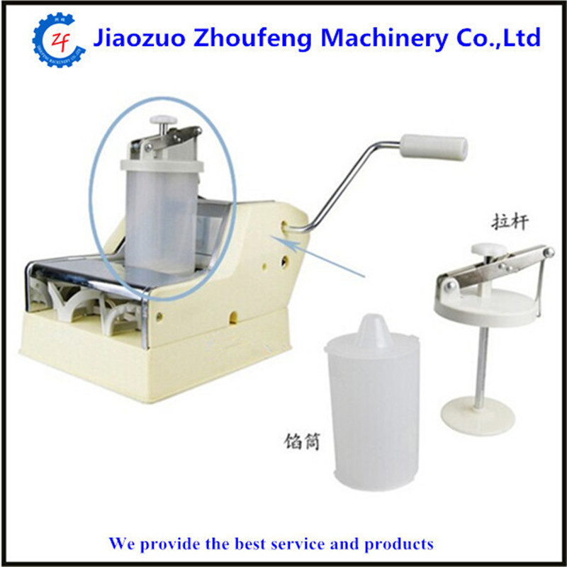 Dumpling machine mini home use manual hand dumpling maker  ZF high quality household manual hand dumpling maker mini press dough jiaozi momo making machine