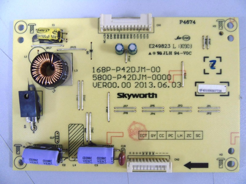 5800-P42DJM-0000 168P-P42DJM-00 Good Working Tested volta djm 12