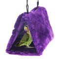 New Arrival Parrot Bird Nest Shed Hammock Fluffy Warm Pet Bedroom Suspended Hut  BS