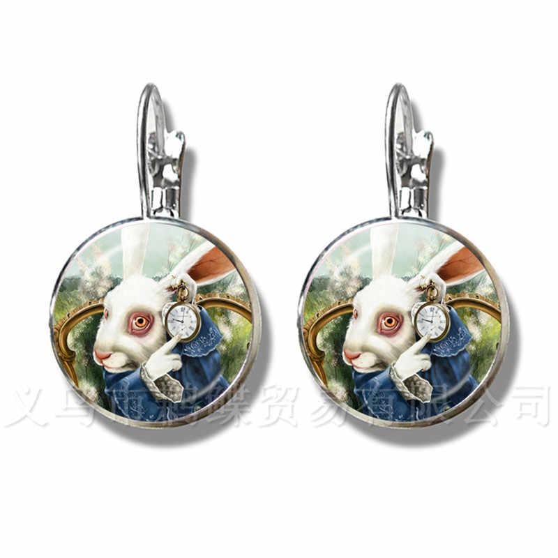 Mothers Day Earrings Gustav Klimt The Kiss Art Jewelry Silver Plated Stud Earrings For Women Girls Wonderful Gift