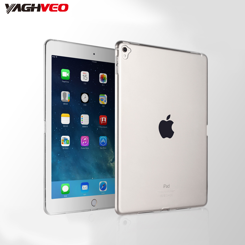 For Apple IPad Pro 9.7 Case TPU Soft Back Cover For IPad Pro 9.7 A1673 A1674 A1675 Ultra Thin Transparent Silicon Case Cover
