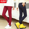 2017 female child legging spring and autumn child baby child faux denim long trousers