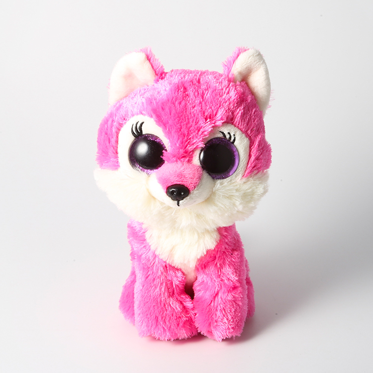 Ty Beanie Boos Stuffed & Plush Animals Rose Red Wolf Toy Doll 6 15cm To Have A Long Historical Standing Stuffed & Plush Animals