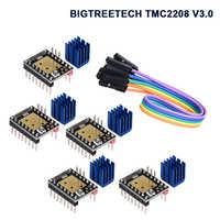 BIGTREETECH TMC2208 V3.0 UART Stepper Motor Driver For SKR V1.3 MKS Gen V1.4 Controller RepRap Mute StepStick TMC2100 3D Printer