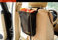 Large Capacity 9L Car Styling Car Cover Seat Storage Bag Waterproof Folding Oxford Car Seat Back