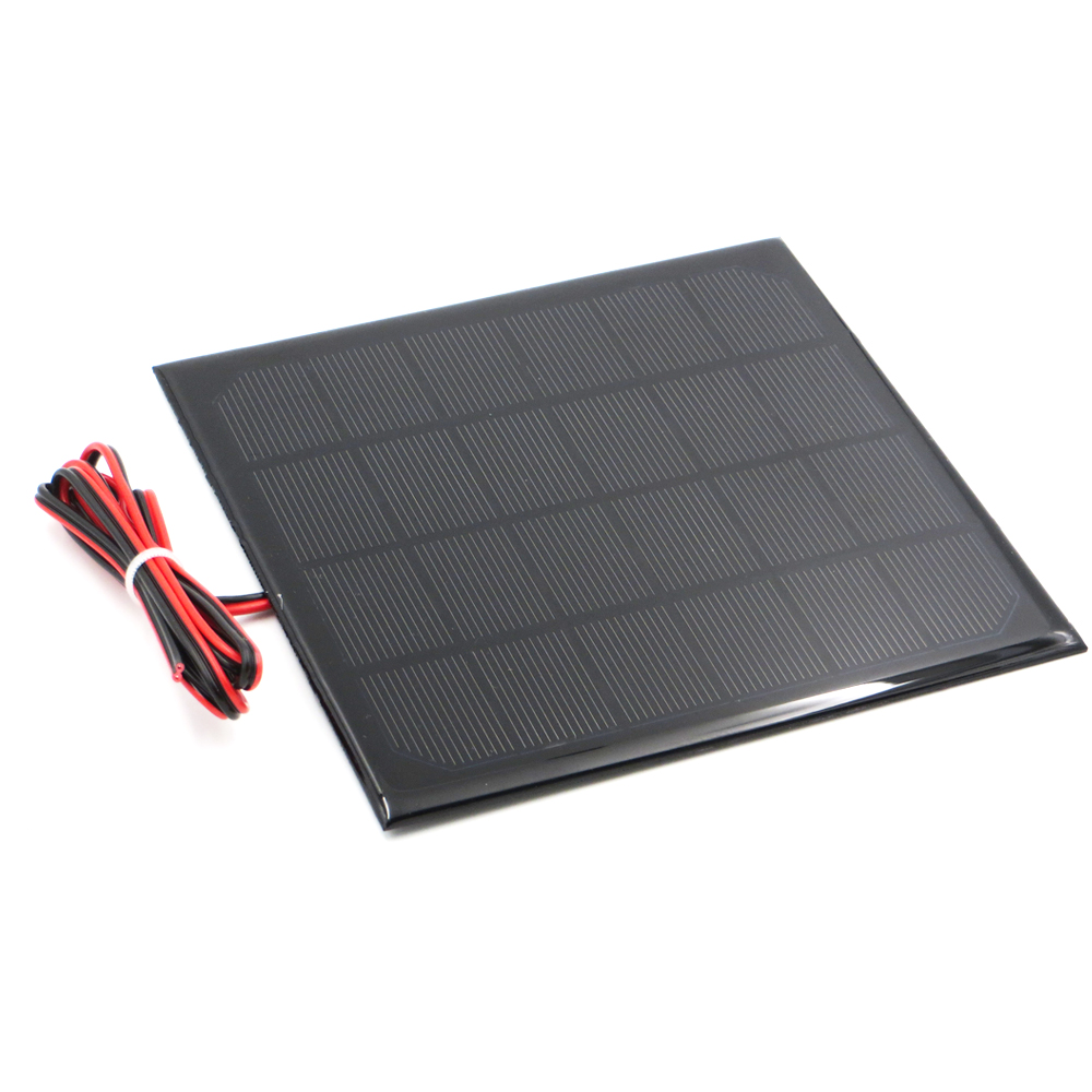 6v Solar Panel With 30/100/200cm Wire Mini Solar System Diy For Battery Cell Phone Charger 0.6w 1w 1.1w 2w 3w 3.5w 4.5w Solar Solar