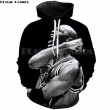 5b82d721d1b0 PLstar Cosmos Jordan Fashion Mens hoodies 2018 New style hooded Sweatshirts  Michael Jordan 3D Print Pullovers